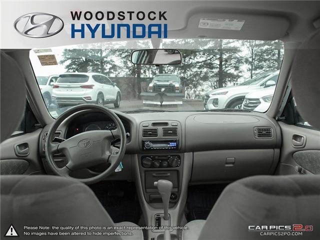 2000 Toyota Corolla  (Stk: KA19013A) in Woodstock - Image 16 of 27
