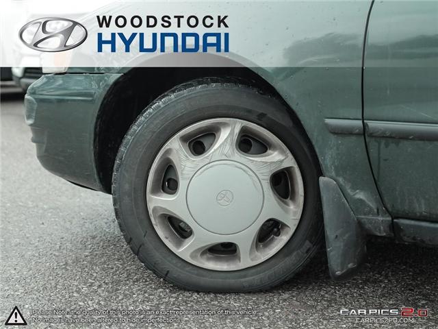 2000 Toyota Corolla  (Stk: KA19013A) in Woodstock - Image 21 of 27