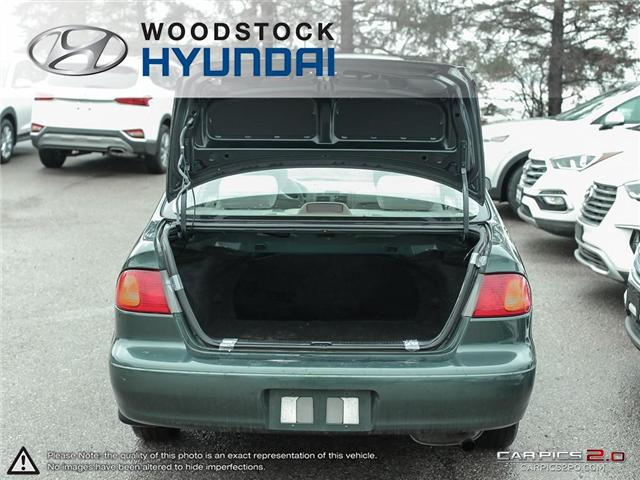 2000 Toyota Corolla  (Stk: KA19013A) in Woodstock - Image 26 of 27