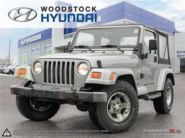 2001 Jeep TJ Sport (Stk: HD18055A) in Woodstock - Image 1 of 27