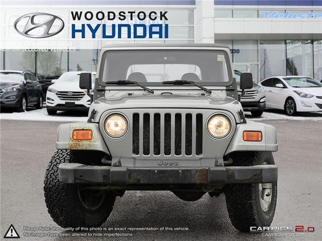 2001 Jeep TJ Sport (Stk: HD18055A) in Woodstock - Image 2 of 27
