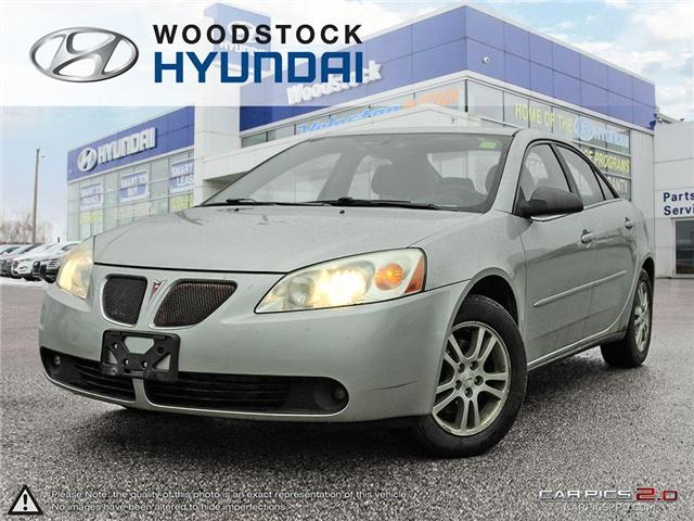 2005 Pontiac G6 Base (Stk: HD18050A) in Woodstock - Image 1 of 27
