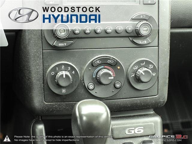 2005 Pontiac G6 Base (Stk: HD18050A) in Woodstock - Image 13 of 27
