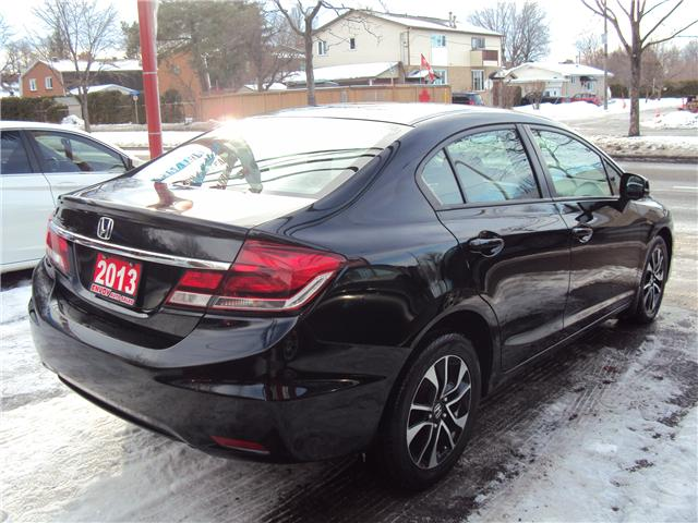2013 Honda Civic LX (Stk: ) in Ottawa - Image 5 of 20