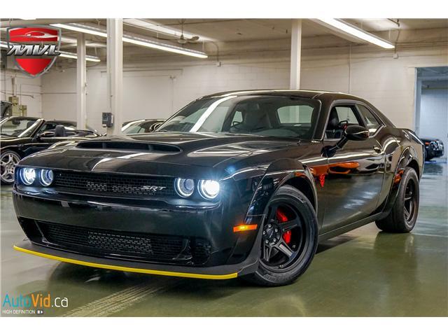 2018 Dodge Challenger Srt Demon Demon 800 Hp Leather Nav Sale