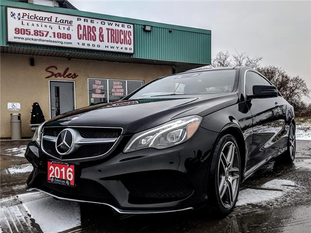 2016 Mercedes-Benz E-Class Base (Stk: ) in Bolton - Image 1 of 26