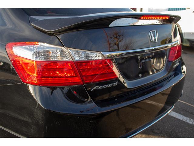 2015 Honda Accord Touring V6 (Stk: J374907A) in Surrey - Image 6 of 25