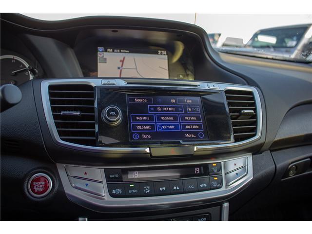 2015 Honda Accord Touring V6 (Stk: J374907A) in Surrey - Image 20 of 25