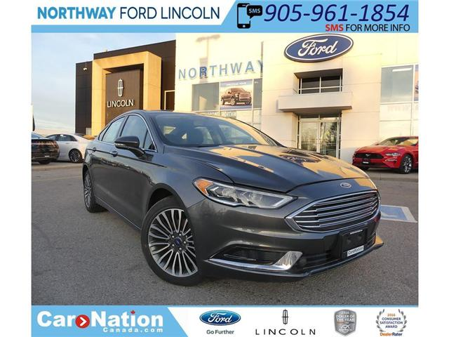 2018 Ford Fusion SE (Stk: FU82546) in Brantford - Image 1 of 28