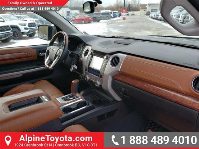 2015 Toyota Tundra SR5 5.7L V8 (Stk: X780054A) in Cranbrook - Image 11 of 17