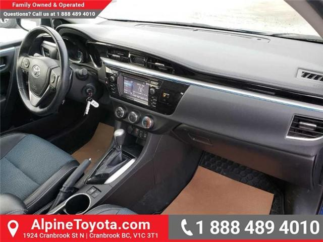 2014 Toyota Corolla S (Stk: U114287B) in Cranbrook - Image 11 of 15