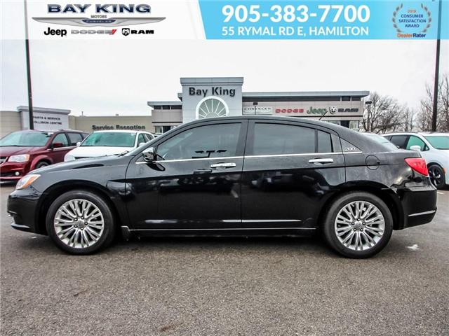 2013 Chrysler 200 Limited (Stk: 197076A) in Hamilton - Image 3 of 21
