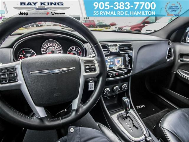 2013 Chrysler 200 Limited (Stk: 197076A) in Hamilton - Image 9 of 21