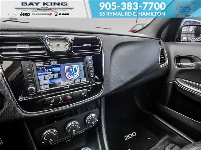 2013 Chrysler 200 Limited (Stk: 197076A) in Hamilton - Image 11 of 21