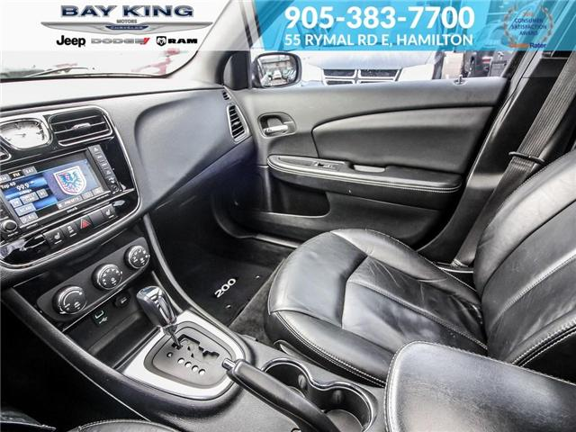 2013 Chrysler 200 Limited (Stk: 197076A) in Hamilton - Image 12 of 21
