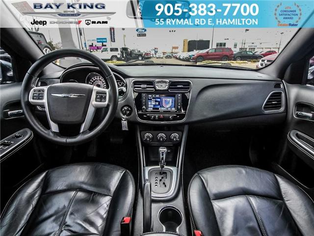 2013 Chrysler 200 Limited (Stk: 197076A) in Hamilton - Image 17 of 21