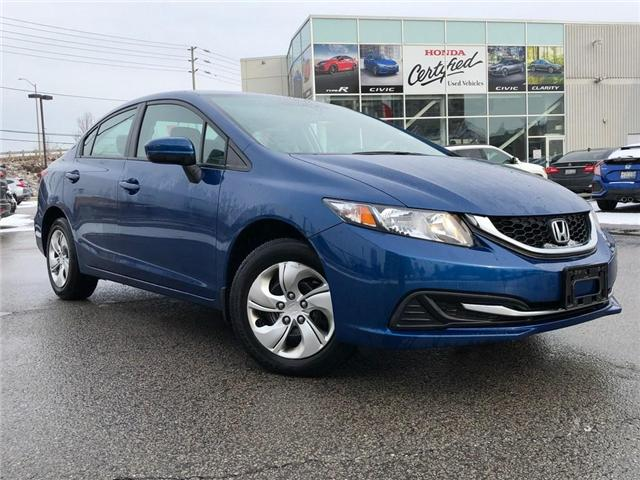 2015 Honda Civic LX (Stk: 190293P) in Richmond Hill - Image 1 of 15