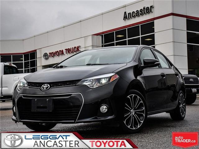 2015 Toyota Corolla  (Stk: 3765) in Ancaster - Image 1 of 23