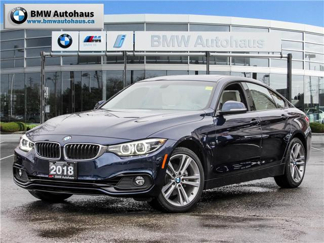 2018 BMW 430i xDrive Gran Coupe  (Stk: P8731) in Thornhill - Image 1 of 28