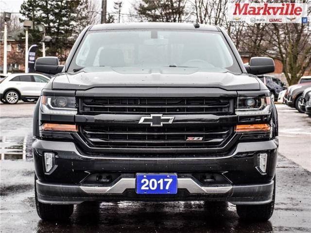 2017 Chevrolet Silverado 1500 2LT-4WD-NAVI- Z71- GM CERTIFIED PRE-OWNED-1 OWNER (Stk: 569942A) in Markham - Image 2 of 26
