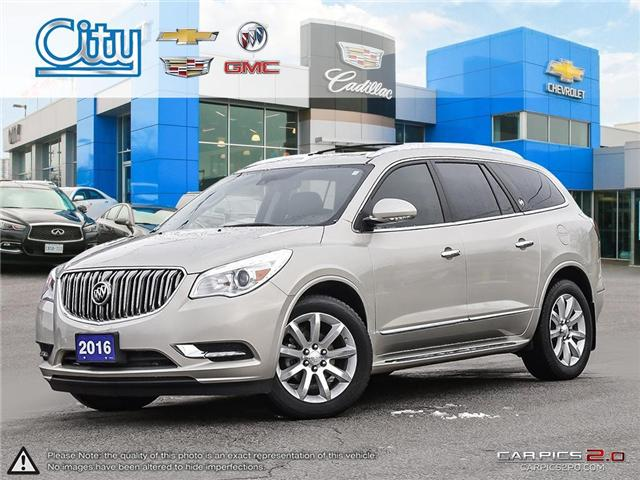 2016 Buick Enclave Premium (Stk: R12131) in Toronto - Image 1 of 27