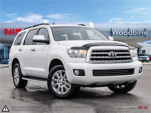 2016 Toyota Sequoia Platinum 5.7L V8 (Stk: P7161) in Etobicoke - Image 1 of 20