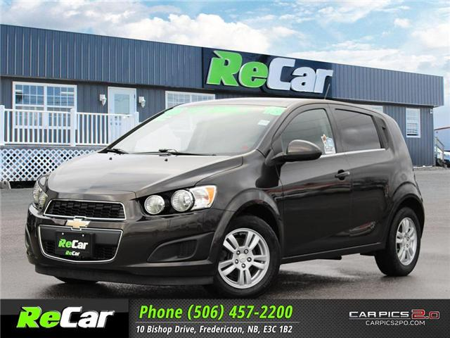 2015 Chevrolet Sonic LT Auto (Stk: 181377A) in Fredericton - Image 1 of 23