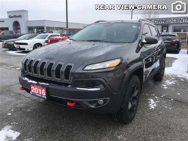 2016 Jeep Cherokee Trailhawk (Stk: 23780T) in Newmarket - Image 1 of 20