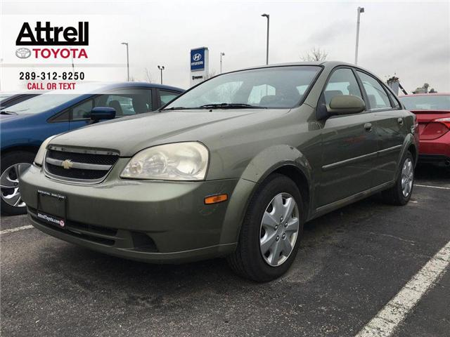 2004 Chevrolet OPTRA SEDAN POWER GROUP, AMFM, CD, AUTOMATIC (Stk: 43063A) in Brampton - Image 1 of 9