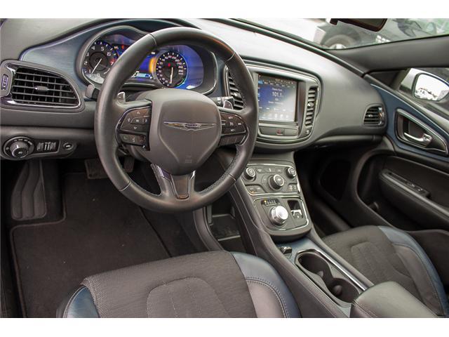 2016 Chrysler 200 S (Stk: J235479A) in Surrey - Image 10 of 28