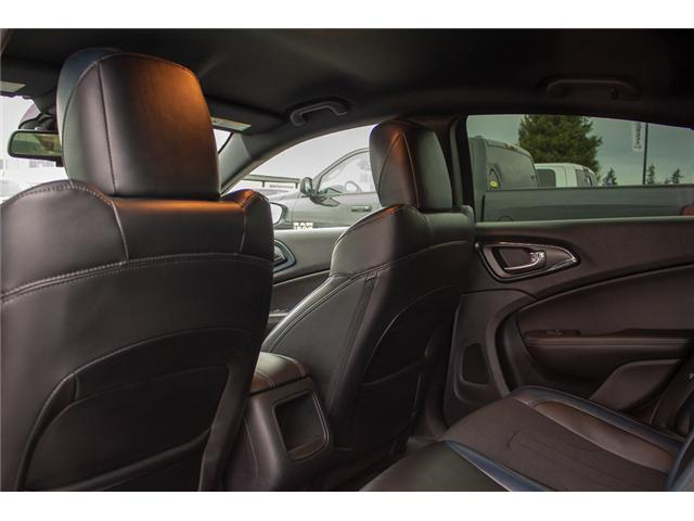 2016 Chrysler 200 S (Stk: J235479A) in Surrey - Image 12 of 28
