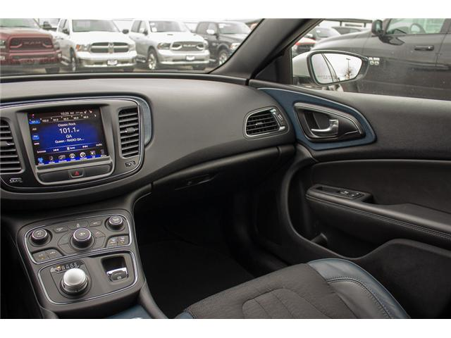 2016 Chrysler 200 S (Stk: J235479A) in Surrey - Image 14 of 28