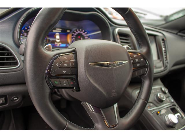 2016 Chrysler 200 S (Stk: J235479A) in Surrey - Image 20 of 28