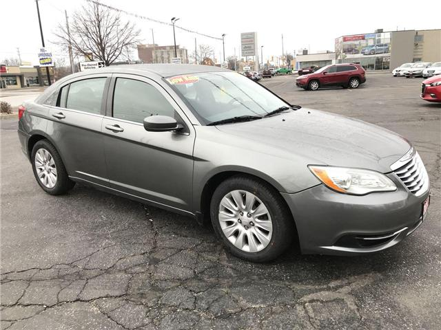 2013 Chrysler 200 LX (Stk: 19557A) in Windsor - Image 1 of 11