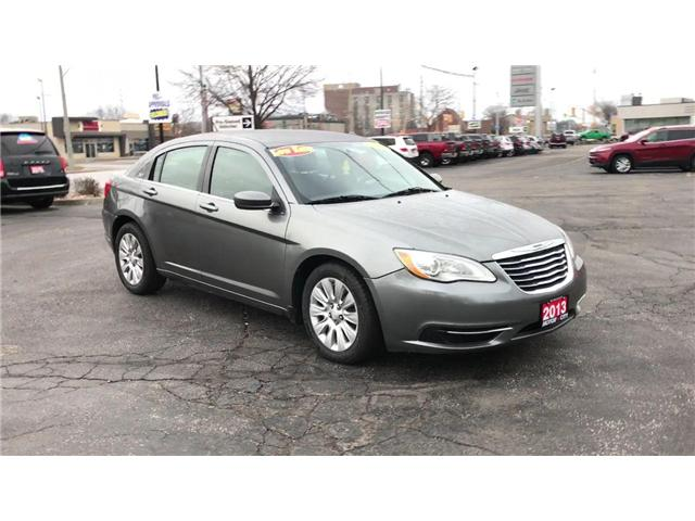 2013 Chrysler 200 LX (Stk: 19557A) in Windsor - Image 2 of 11