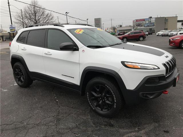 2016 Jeep Cherokee Trailhawk (Stk: 19511A) in Windsor - Image 1 of 11