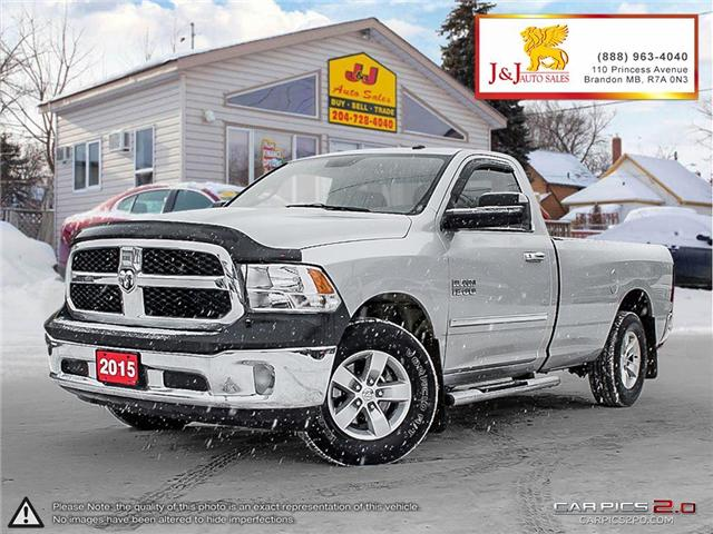 2015 RAM 1500 SLT (Stk: J18133-1) in Brandon - Image 1 of 27