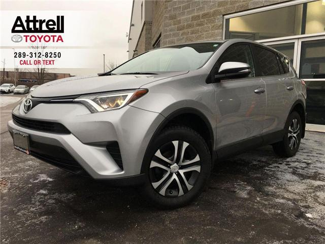 2016 Toyota RAV4 LE FWD TINT, POWER GROUP, CRUISE, ABS, BLUETOOTH,  (Stk: 41746A) in Brampton - Image 1 of 21
