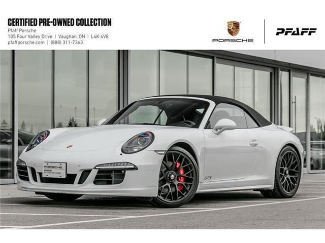 2015 Porsche 911 Carrera 4 GTS Cabriolet PDK (Stk: U7578) in Vaughan - Image 1 of 20