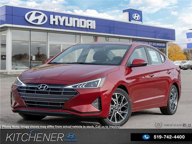 2019 Hyundai Elantra Luxury (Stk: 58529) in Kitchener - Image 1 of 23