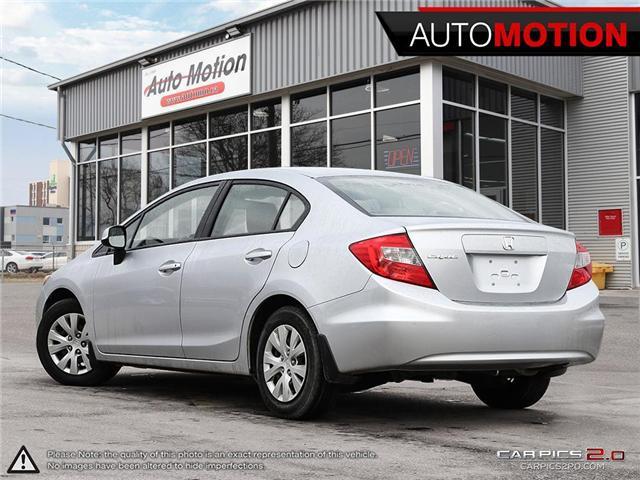 2012 Honda Civic LX (Stk: 18_1262) in Chatham - Image 4 of 27