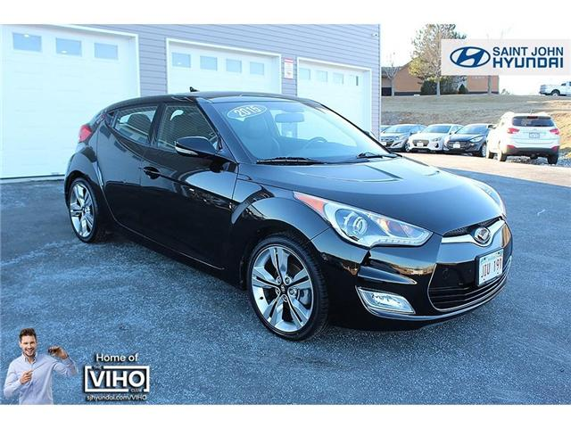 2015 Hyundai Veloster Tech (Stk: U1998) in Saint John - Image 1 of 21