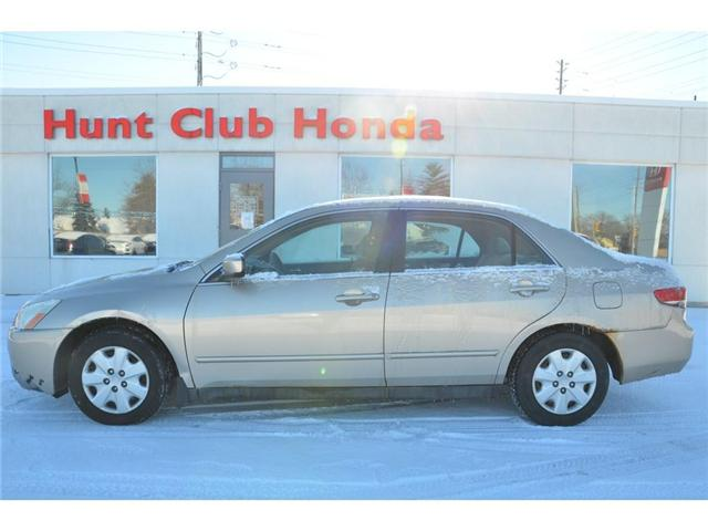 2004 Honda Accord LX-G (Stk: Y00515A) in Gloucester - Image 1 of 18