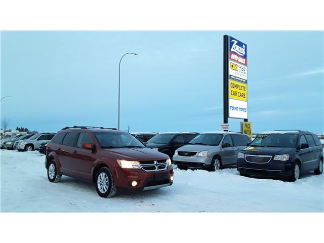2014 Dodge Journey SXT (Stk: P386) in Brandon - Image 1 of 13