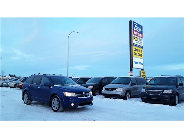 2012 Dodge Journey R/T (Stk: P391) in Brandon - Image 1 of 15