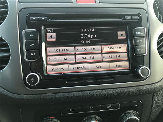 2011 Volkswagen Tiguan 2.0 TSI Comfortline (Stk: 1090) in Halifax - Image 15 of 19