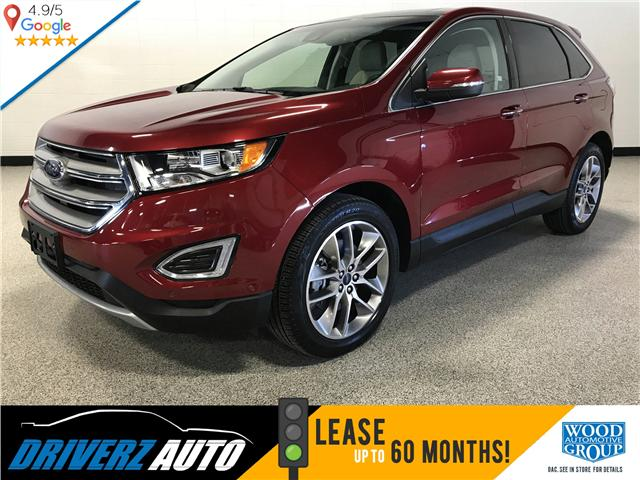 2017 Ford Edge Titanium (Stk: P11841) in Calgary - Image 1 of 13