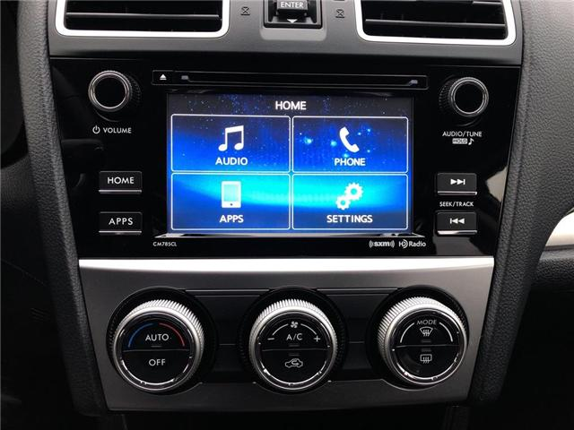 2016 Subaru Crosstrek Touring Package (Stk: LP0219) in RICHMOND HILL - Image 17 of 22