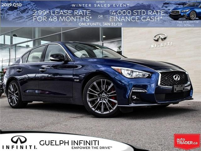 2019 Infiniti Q50 3.0t Red Sport 400 (Stk: I6802) in Guelph - Image 1 of 25