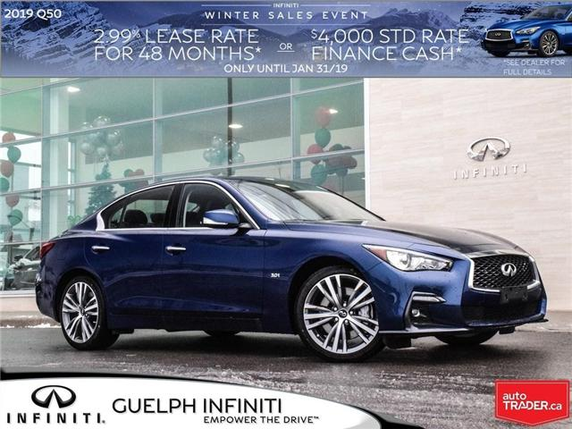 2019 Infiniti Q50 3.0T Sport (Stk: I6808) in Guelph - Image 1 of 24